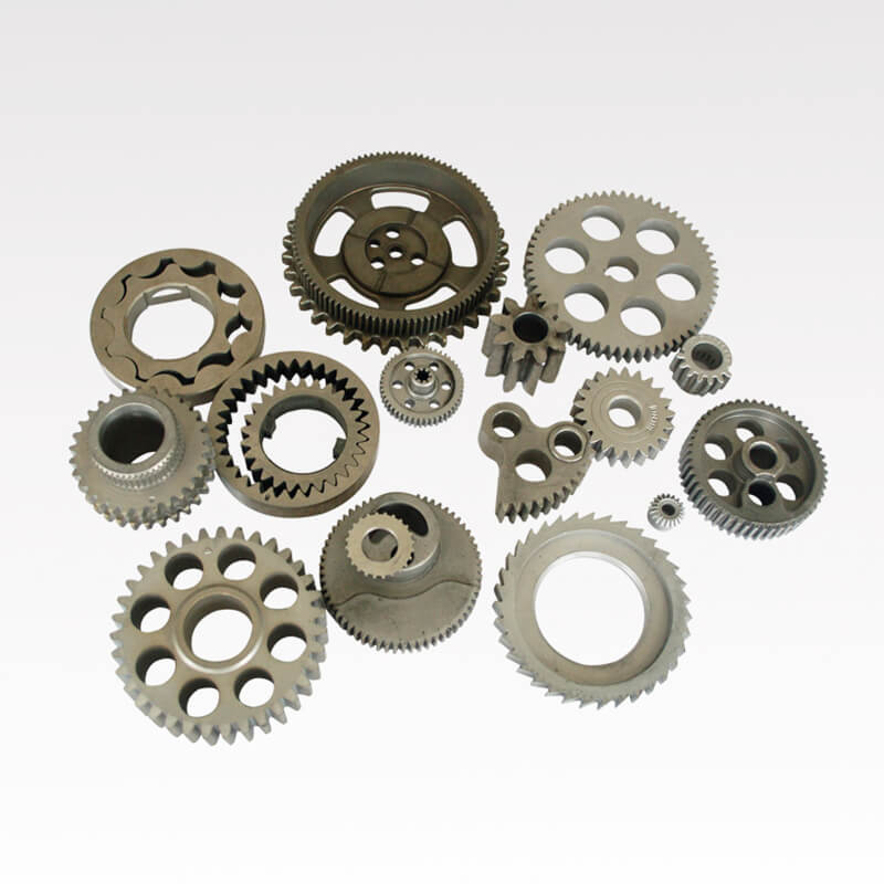 What are the advantages of powder metallurgy gears